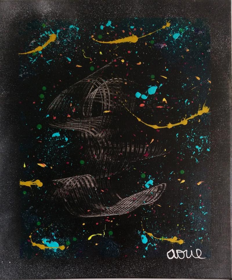 SPACEYX ACHAT TABLEAU PEINTURE MODERNE : AORIE